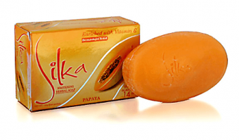 Silka - Whitening Herbal Soap - Papaya