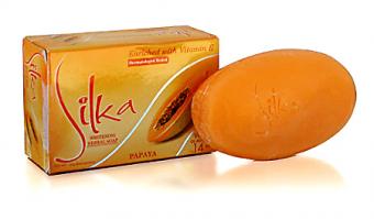 Silka - Whitening Herbal Soap - Papaya