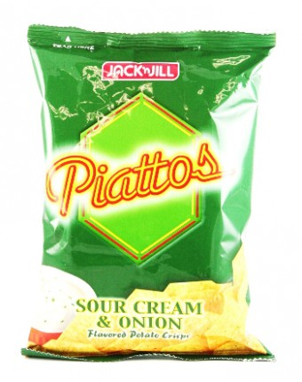 Jack & Jill - Piatoos Sour cream & Onion