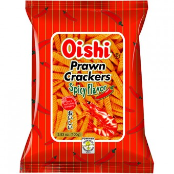 Oishi - Prawn cracker - spicy flavor