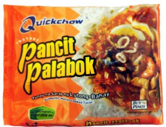 Instant Pancit Palabok