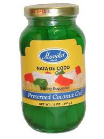 Coconut Gel -Nata de Coco (green)