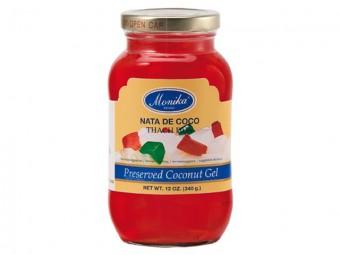 Coconut Gel -Nata de Coco (red)