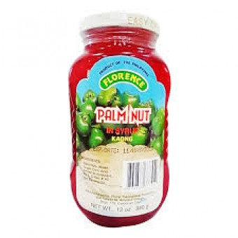 Palm Nut in syrup - Kaong (red)
