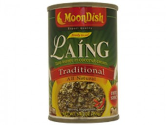 Laing with shrimp  (hot & spicy)