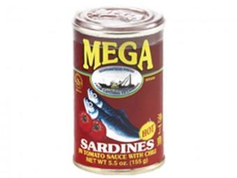 Mega Sardines - hot (red)