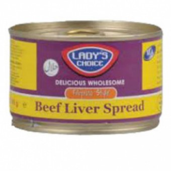 Lady's Choice - Liver Spread beef