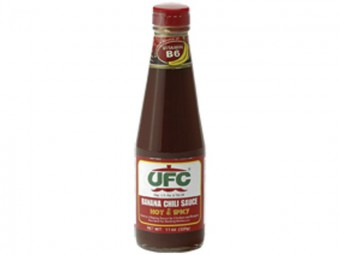 UFC - Banana Sauce - Hot & Spicy