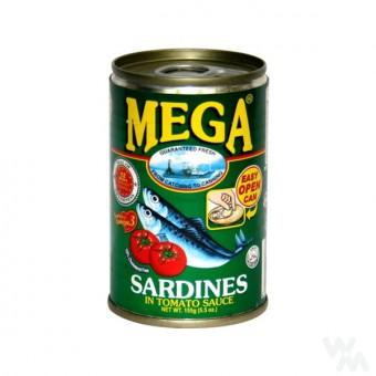 Mega - Sardines in tomoto sauce (Green)