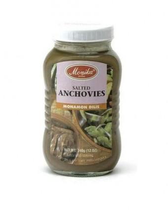Salted Anchovies - Monamon Dilis